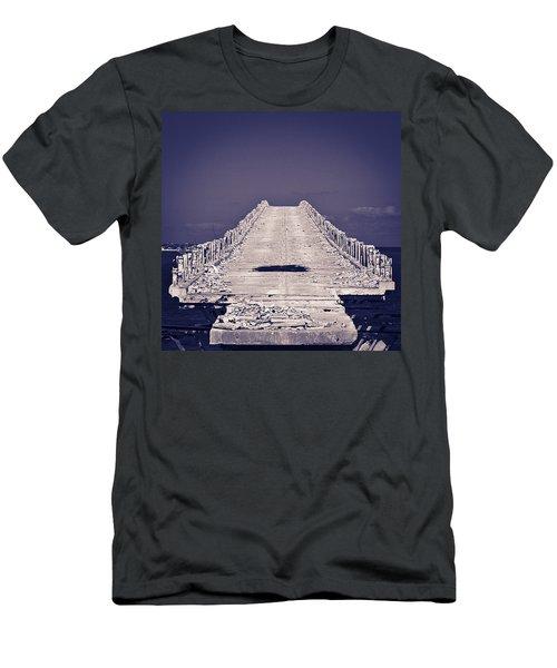 Overseas Railroad II Men's T-Shirt (Athletic Fit)