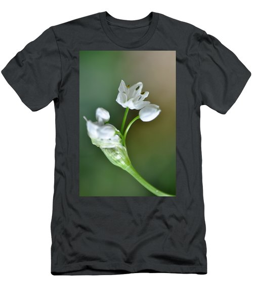 White Blossom 3 Men's T-Shirt (Athletic Fit)