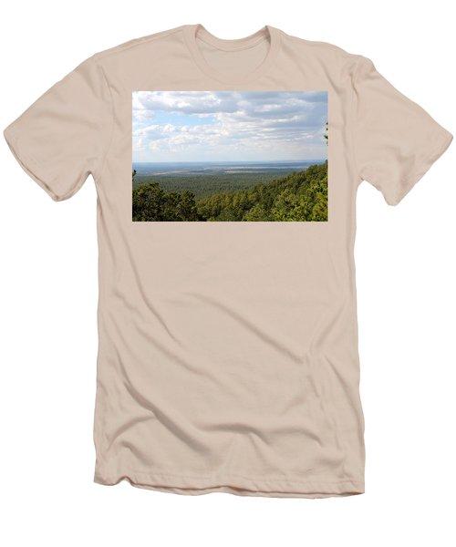 Overlooking Pinetop Men's T-Shirt (Slim Fit) by Pamela Walrath