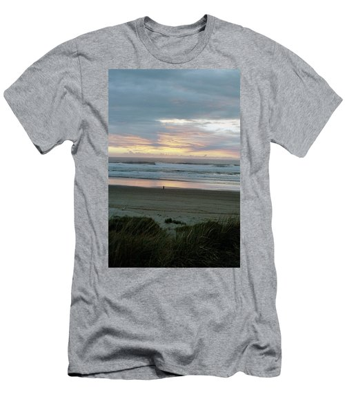 Oregon Coast 1 Men's T-Shirt (Athletic Fit)
