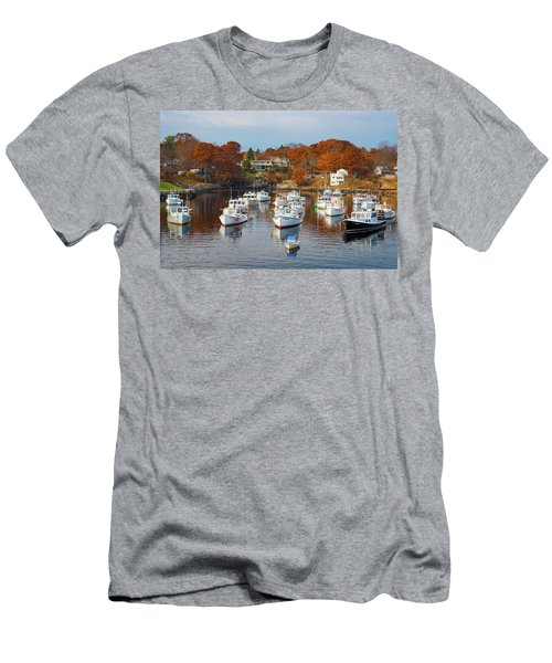 Men's T-Shirt (Athletic Fit) featuring the photograph Perkins Cove by Darren White
