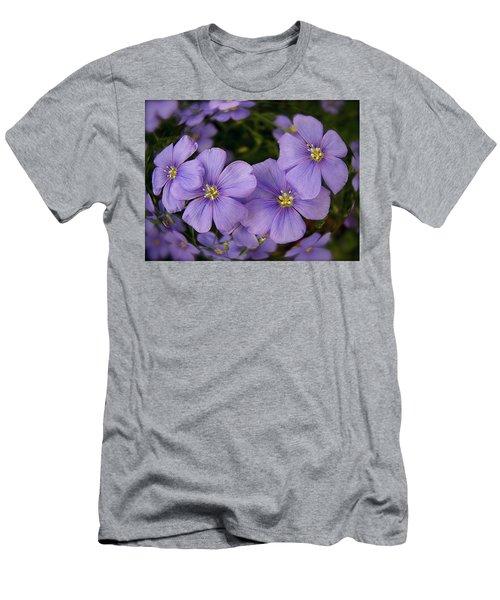 Vinca Under Glass Men's T-Shirt (Slim Fit) by Sue Stefanowicz