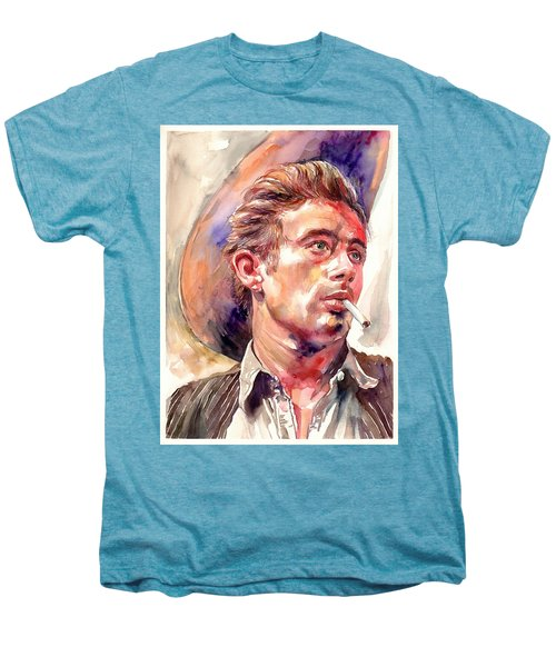 James Dean Portrait Men's Premium T-Shirt