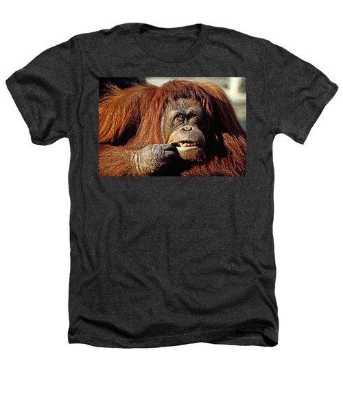 Orangutan  Heathers T-Shirt by Garry Gay