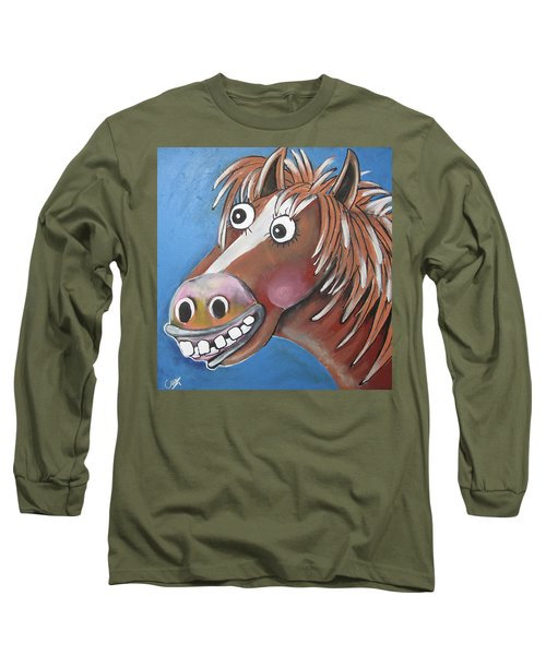 Mr Horse Long Sleeve T-Shirt