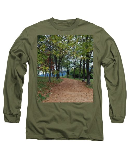 Pathway Long Sleeve T-Shirt by Eric Liller