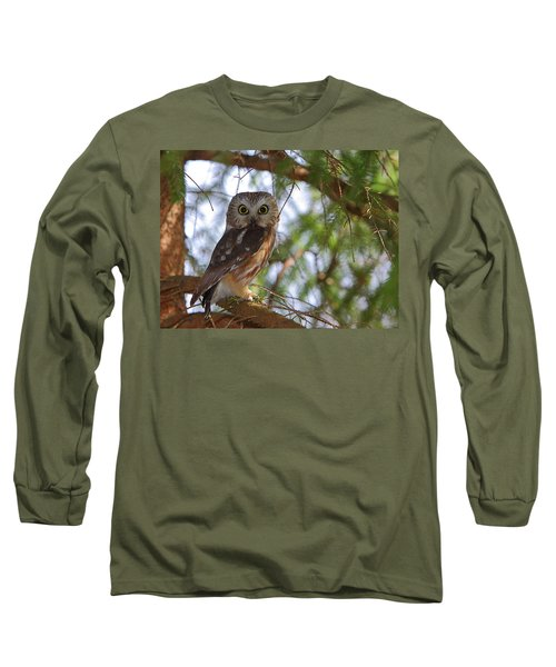 Saw-whet Owl Long Sleeve T-Shirt