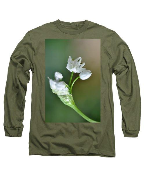 White Blossom 3 Long Sleeve T-Shirt