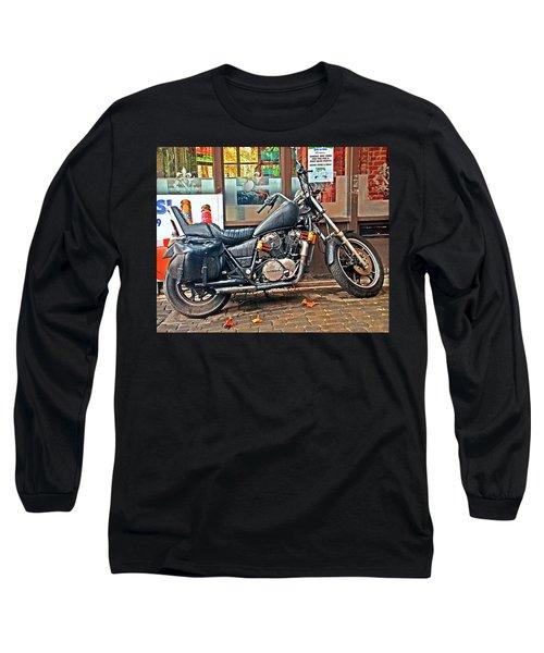 1983 Vt750 C Honda Shadow Long Sleeve T-Shirt by Greg Sigrist