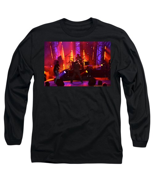 Long Sleeve T-Shirt featuring the photograph 2u A Tribute To U2 by Carol  Bradley