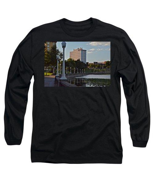 Beautiful Downtown Lakeland Long Sleeve T-Shirt
