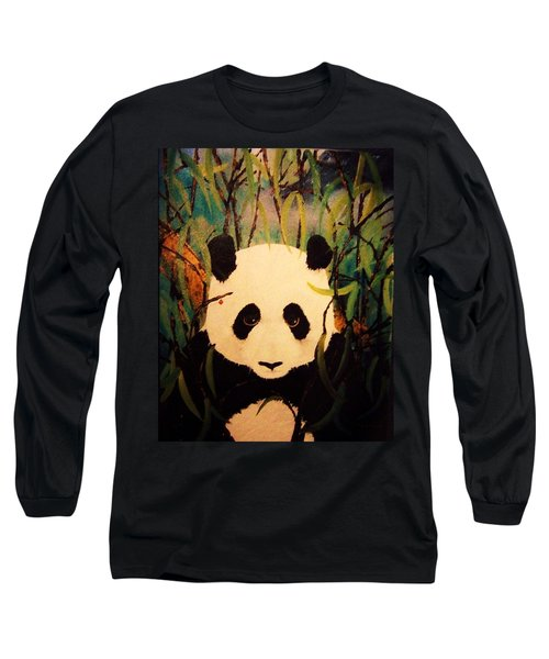 Endangered Panda Long Sleeve T-Shirt