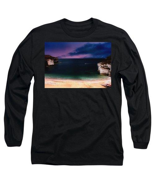 Evening On The Headland  Long Sleeve T-Shirt