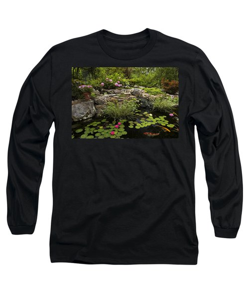 Garden Pond - D001133 Long Sleeve T-Shirt