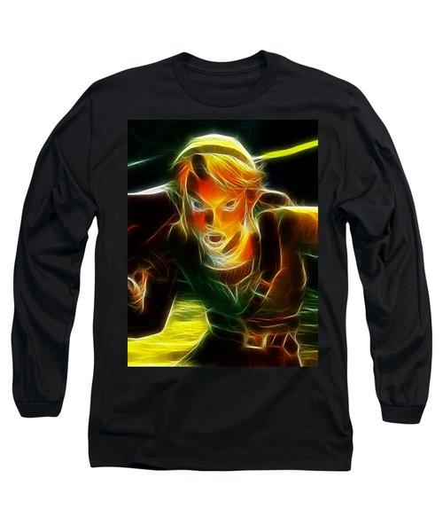 Magical Zelda Link Long Sleeve T-Shirt