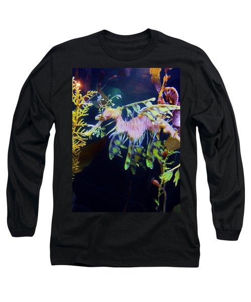 Sea Horse Parade 2 Long Sleeve T-Shirt
