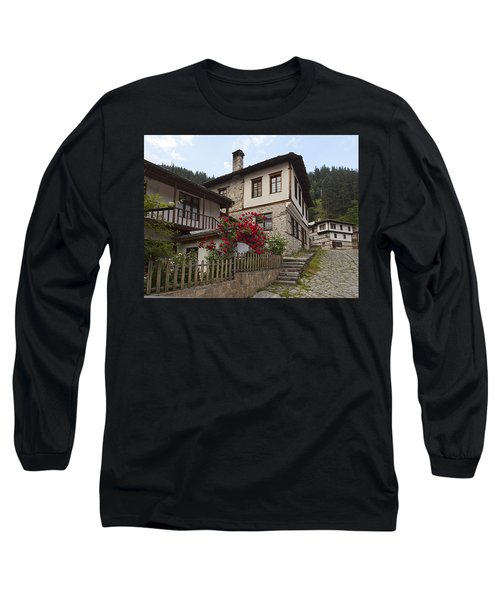 Shiroka Laka Village Long Sleeve T-Shirt