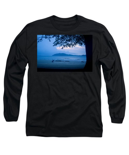 Strolling Surfer Long Sleeve T-Shirt