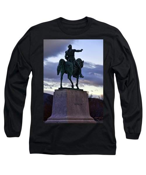 Washington Monument At West Point Long Sleeve T-Shirt by Dan McManus