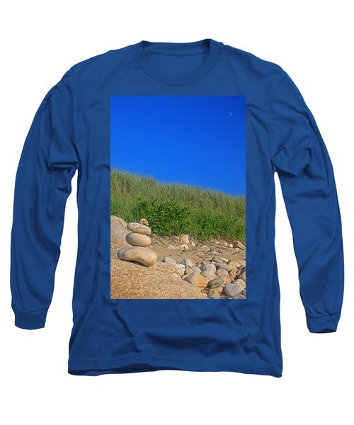 Cairn Dunes And Moon Long Sleeve T-Shirt