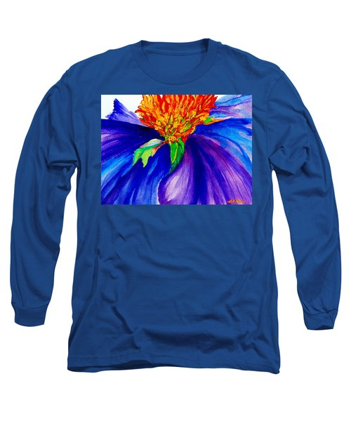 Graceful Curves Long Sleeve T-Shirt by Lil Taylor