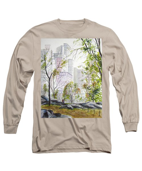 Central Park Stroll Long Sleeve T-Shirt