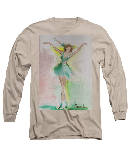 Dance Long Sleeve T-Shirt by Laurie L