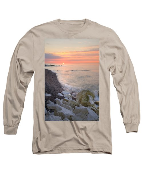 Sunrise At The White Cliffs Of Dover Long Sleeve T-Shirt