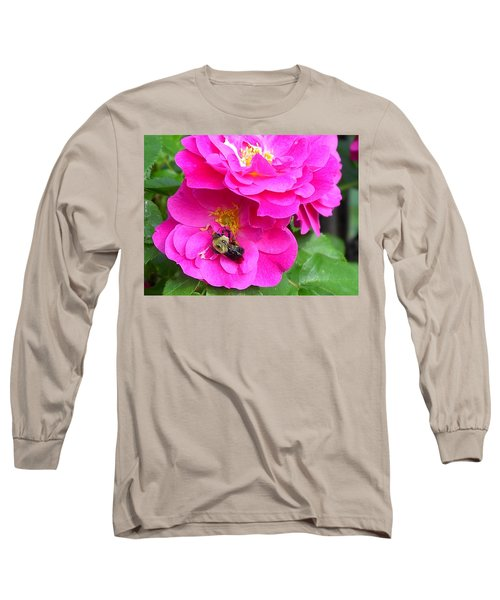 Long Sleeve T-Shirt featuring the photograph Jc And Bee by Mary-Lee Sanders