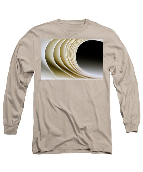Long Sleeve T-Shirt featuring the photograph Paper Curl by Pedro Cardona