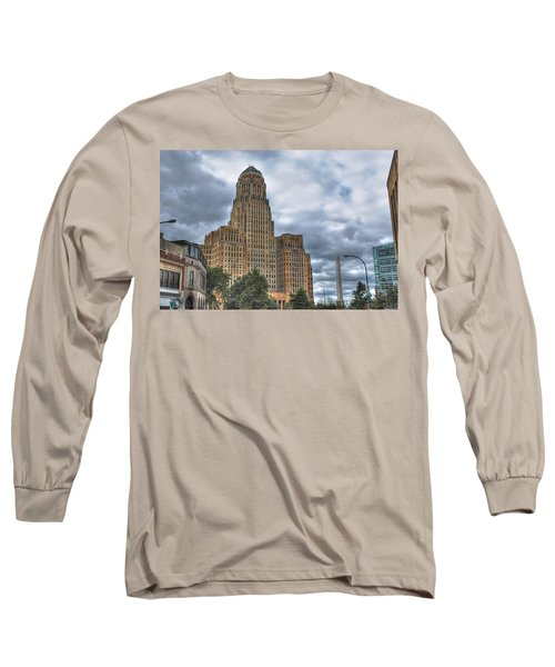Long Sleeve T-Shirt featuring the photograph Piercing The Heavens by Michael Frank Jr