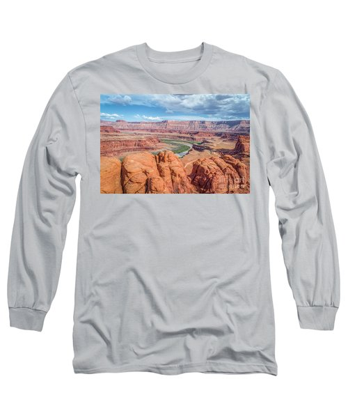 Colorado River And Chicken Corner Trail  Long Sleeve T-Shirt