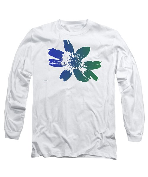Long Sleeve T-Shirt featuring the photograph Blue In Bloom by Lauren Radke