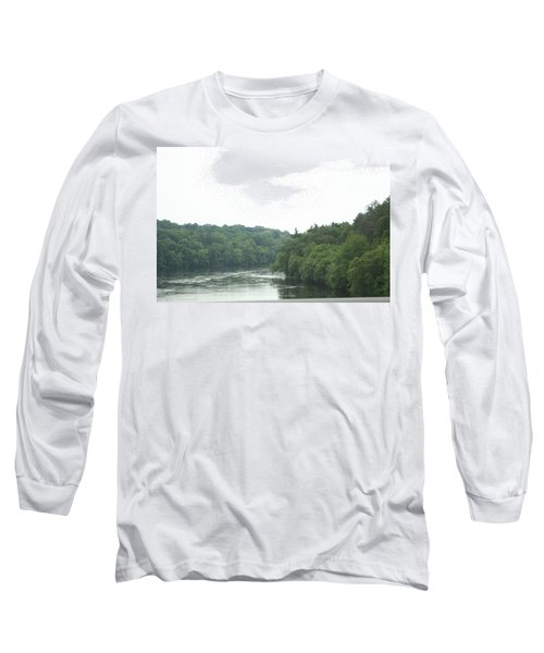 Mighty Merrimack River Long Sleeve T-Shirt