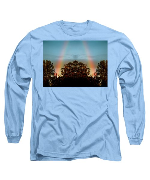 The Rainbow Effect Long Sleeve T-Shirt by Sue Stefanowicz