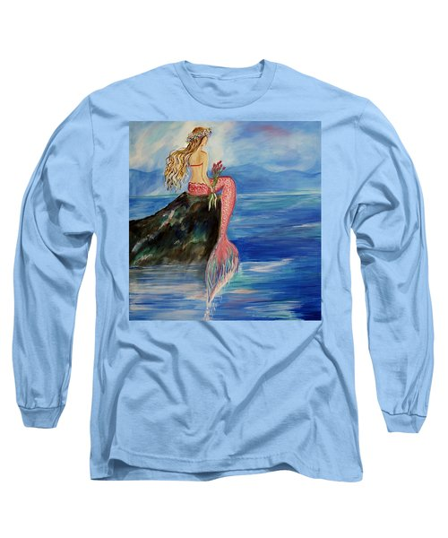 Mermaid Wishes Long Sleeve T-Shirt