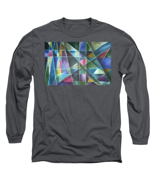 Light Patterns 2 Long Sleeve T-Shirt