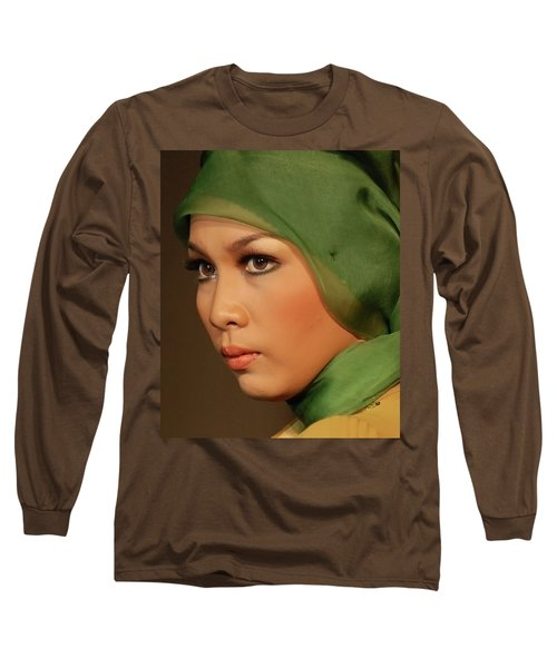 Portrait Long Sleeve T-Shirt by Charuhas Images