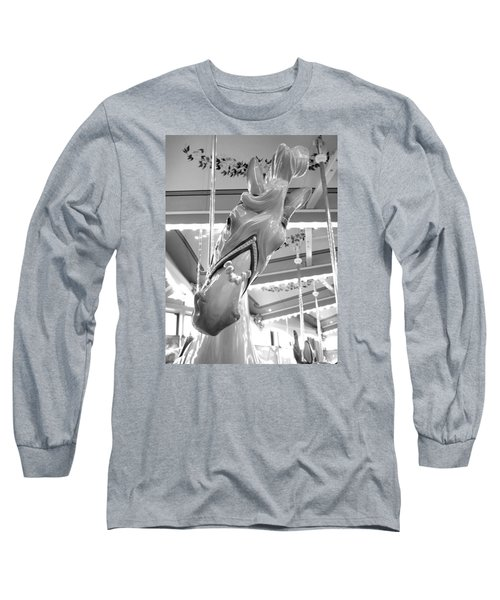 Long Sleeve T-Shirt featuring the photograph Hello by Barbara McDevitt