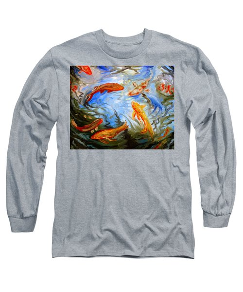 Fish Reflections Long Sleeve T-Shirt