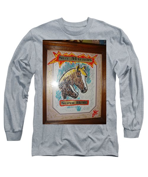 Horses Long Sleeve T-Shirt by Lisa Piper