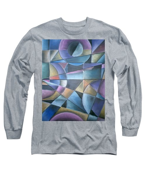 Light Patterns Long Sleeve T-Shirt