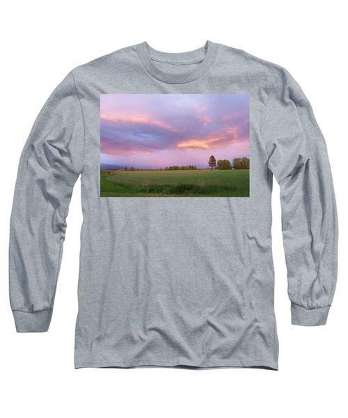 Montana Sunsets 3 Long Sleeve T-Shirt