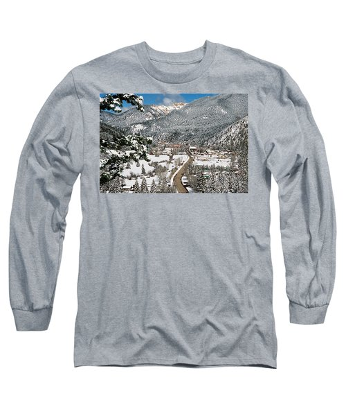 Red River In Winter Long Sleeve T-Shirt