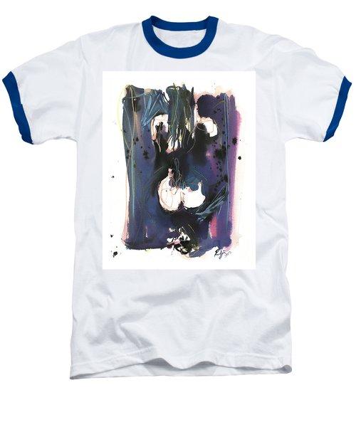 Baseball T-Shirt featuring the painting Kneeling by Robert Joyner