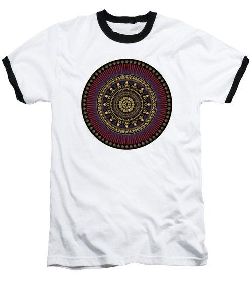 Circularium No 2650 Baseball T-Shirt by Alan Bennington