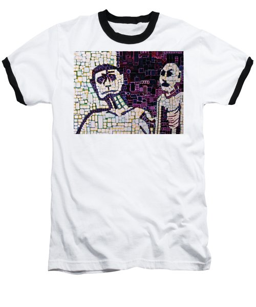 Baseball T-Shirt featuring the painting Lost Boys by Donna Howard