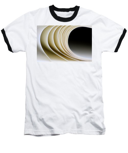 Baseball T-Shirt featuring the photograph Paper Curl by Pedro Cardona