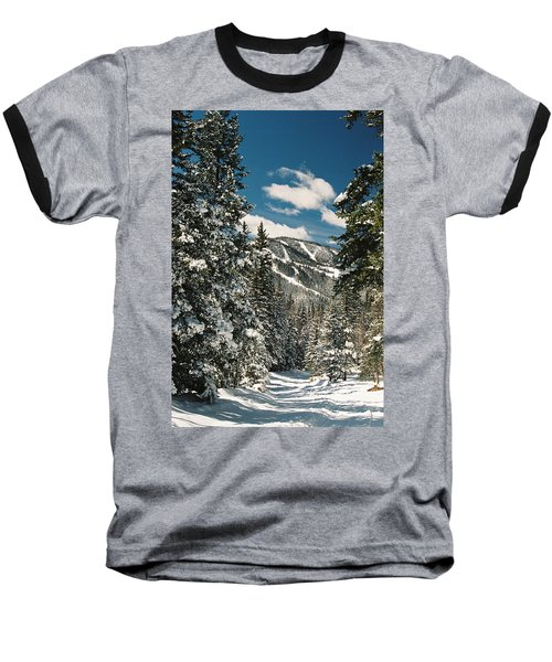 Fresh Powder Baseball T-Shirt
