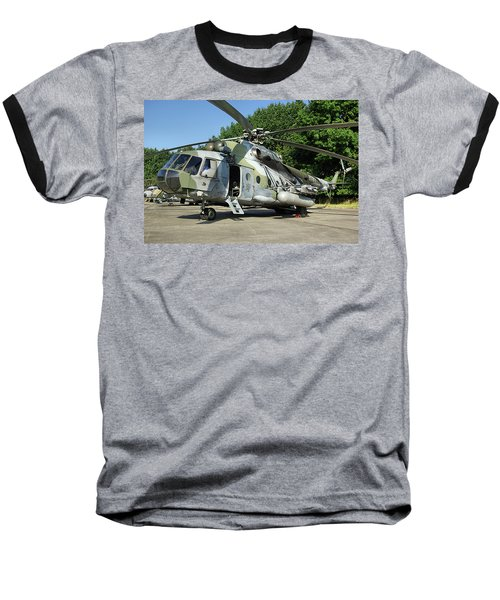 Mil Mi-17 Hip Baseball T-Shirt by Tim Beach